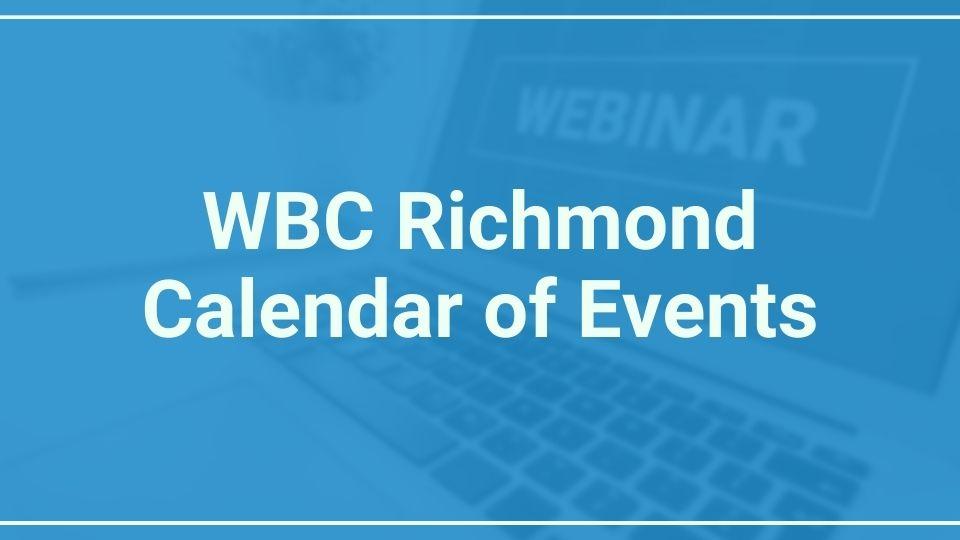 WBCR calendar of events