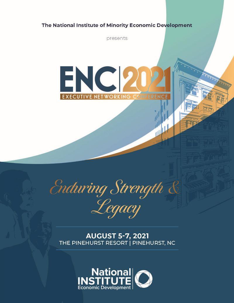 ENC 2021 Program booklet cover